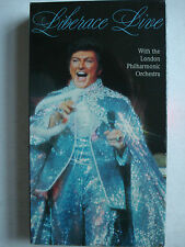 Liberace Live with the London Philharmonic Orchestra VHS 1985 New Sealed Rare