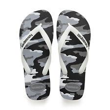 Chanclas Havaianas de Hombre Top Camu Blanco Gris Camuflaje Zapatillas Unisex
