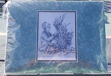 Helga Vainowski Hawaiian Hawaii Print Basket Weaver Weaving Woman Wahine Signed