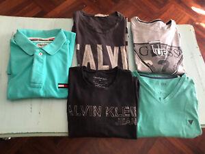 Lotto STOCK Maglie T-Shirt GUESS CK CALVIN KLEIN TOMMY HILFIGER Polo Maglietta