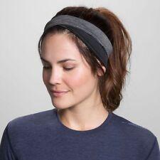 New Brooks Joyride Headband for Running - OSFA - Gray/Black - Free Shipping!