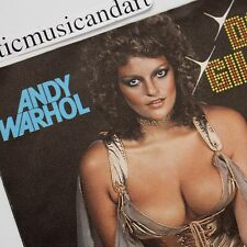 "ANDY WARHOL DANA GILLESPIE 7"" VINYL 1974 ORIGINAL DAVID BOWIE N.MINT VERY RARE"