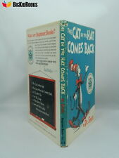 The Cat In The Hat Comes Back 1958 1st/2nd Printing Beginner Book Dr. Seuss DJ