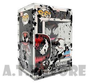 "ATV Cases / Protectors for 4"" Funko Pops (Pack of 10, 5 or 1) Black Blood Splat"