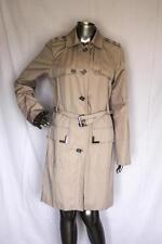 Womans MICHAEL MICHAEL KORS Khaki Button Down Trench Coat With Belt Size M