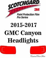 3M Scotchgard Paint Protection Film Pro Series Clear 2015 2016 2017 GMC Canyon