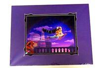 New Disney Parks Aladdin and Jasmine Magic Carpet Ride Framed Lithograph