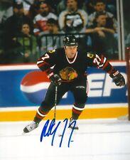 PAUL COFFEY signed CHICAGO BLACK HAWKS 8X10 photo w/ COA