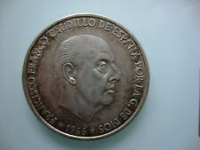 ESPAGNE - 100 PESETAS 1966 franco  - Argent