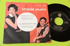 "CATERINA VALENTE 7"" 45 FULL MOON ORIG ITALY 1959 NM CONCERTO N° 2 RACHMANINOFF"
