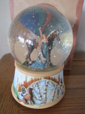 RARE DRAGONSITE SNOW/WATER GLOBE FAIRY SERENITY BY NENE THOMAS RETIRED  BOXED