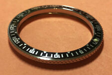 12Hr/60M Insert Knurled Edge Steel Bezel for Vostok Amphibian Komandirskie Watch