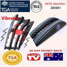 True Back Trueback pain relief traction device, New Vibrating Model Made in USA
