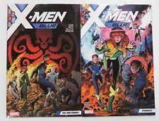 X-Men Blue Vol 1 Strangest Vol 2 Toil & Trouble Marvel Graphic Novel Comic Book