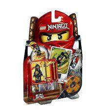 LEGO Ninjago 2170 Cole DX NERO Ninja Spinjitzu Spinner personaggio