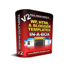 WordPress HTML Blogger Templates in-a-Box - inklusive Master Reseller Lizenz