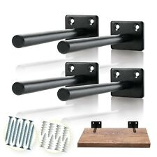 Solid Steel Floating Shelf Bracket - Floating Shelf Brackets - US STOCK