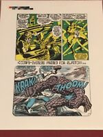 AVENGERS 93 Thor Iron Man Fantastic Four Pencils Neal Adams Editor Stan Lee 1971