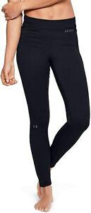 New Under Armour Women's Base Leggings 4.0 Size Large Black 1343323