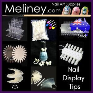 Nail Polish Colour Display Tips Wheel Chart Ring Sticks Swatch false fake Nails