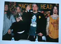 MACHINE HEAD Original Collectable Postcard Official