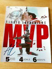 Alexis Lafreniere Team Canada MVP 8x10 Photo Signed Autograph Reprint L@@K