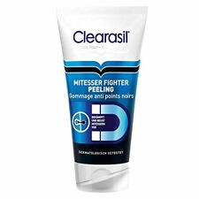 Clearasil Mitesser Fighter Peeling Gesichtsreinigung Unreinheiten Pickel 150ml