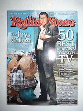 Magazine ROLLING STONES US september 2009 50 best reasons to watch TV