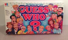 1996 MILTON BRADLEY GUESS WHO? THE MYSTERY FACE GAME #4800
