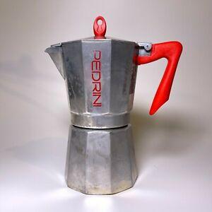 LARGE 14OZ  PEDRINI ESPRESSO STOVE TOP ITALIAN COFFEE MAKER PERCOLATOR