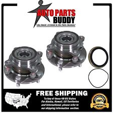 2 New Front Wheel Hub Bearing Assembly 4WD Tundra Sequoia Land Cruiser LX570 4WD