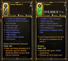 Diablo 3 RoS PS4 [HARDCORE] New 2.6 Modded Weapon & Ring Bundle!