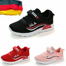 Gr.26-37 Kinder Laufschuhe Jungen Mädchen Sport Sneakers Atmungsaktiv Turnschuhe