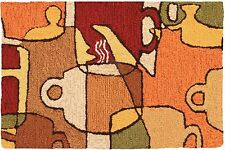Coffee Collage Rug by Homefires