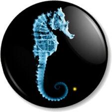 "Fringe Seahorse 25mm 1"" Pin Button Badge TV Series Sci-Fi FBI Title Symbol Image"