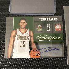 2012-13 Panini ELITE TOBIAS HARRIS ROOKIE AUTO RC #42 AUTOGRAPH NBA Sixers