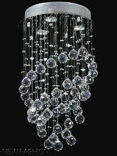 Moderne Ring Förmigkeit Kristall Deckenleuchte Hängende Lampe Kronleuchter