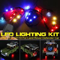 For LEGO 42110 For Land Rover Defender Car Bricks ONLY LED Light Lighting Kit