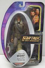 Star Trek WORF Action Figure GOVERNOR Tower Records Exc. Diamond Select NIP