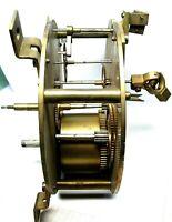 Mouvement brocot DOUBLE FACE Cadran pendule gare usine uhr clock régulateur