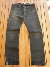 Prps Noir Jeans Rambler 36 Slim Fit Black Grey P65P109VBL Japan Denim Selvage