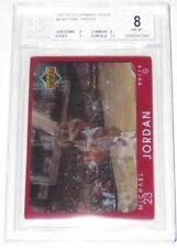 1997/98 Michael Jordan NBA Upper Deck Diamond Vision 3-D Card #4 BGS Grd 8 NM-MT