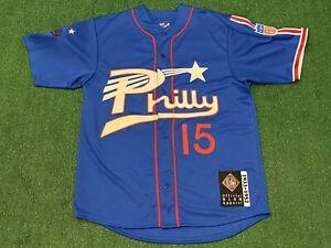 Philadelphia Stars Philly Negro League Baseball Museum Jersey XL Vintage NLBM