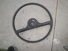 Willys  Jeep 4 x 4 truck steering wheel some cracks  1952 1956