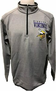 G-III Sports Minnesota Vikings Men's One on One 1/4 Zip Pullover Sweatshirt