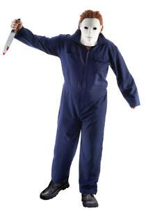Serienmörder Michael Overall für Herren - Dunkelblau - Film Horror Halloween