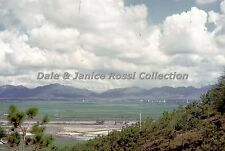 HK135 Single 35mm Slide 1962 New Territories Rice Fields,  Hong Kong China