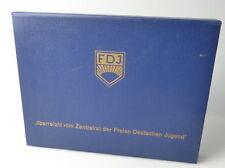 Estuche FDJ sobre es suficiente por el consejo central de la libre alemanes juventud + aguja pdj