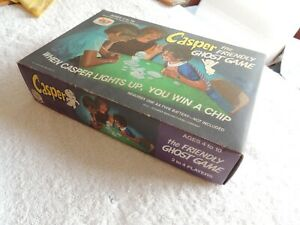 VINTAGE SCHAPER  1974 CASPER THE FRIENDLY GHOST GAME in the box