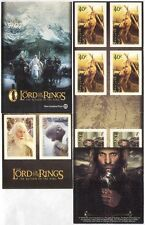 NZ  2003 Lord of the Rings/Film/Cinema/Hobbits/Gandalf/Gollum 10v s/a bklt s5675